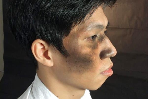 """Thay đổi dáng mũi, """"Hai Lúa"""" Đào Văn Tuấn trở thành Hotboy The Face - Ảnh 2"""