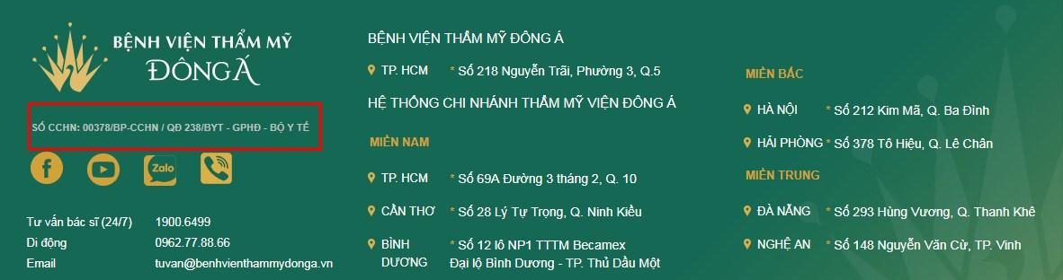 Thẩm mỹ viện Đông Á Đà Nẵng có tốt không? Câu trả lời bất ngờ - Hình 2