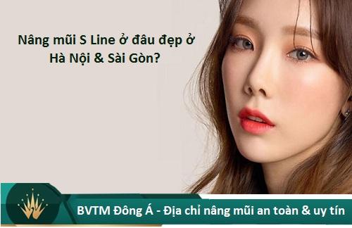 Nâng mũi S Line ở đâu Đẹp, An toàn và Rẻ nhất ở Hà Nội + TpHCM? Hình 1