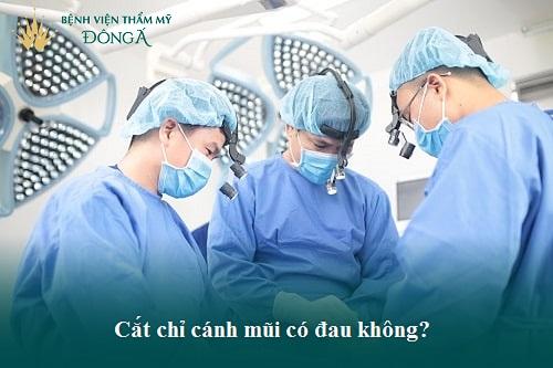 Cắt cánh mũi bao lâu cắt chỉ? Quy trình cắt chỉ cho mũi Lành sớm - Hình 2