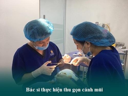 Thu gọn cánh mũi nội soi là gì? Sửa mũi ở đâu Thon gọn và Rẻ? Hình 3