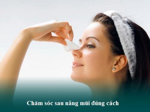 Chăm sóc sau nâng mũi cấu trúc Chuẩn giữ dáng mũi Đẹp lâu - Hình 1