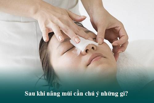Chăm sóc sau nâng mũi cấu trúc Chuẩn giữ dáng mũi Đẹp lâu - Hình 3