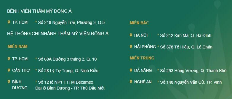 Đâu là dịch vụ TỐT nhất tại Thẩm mỹ viện Đông Á Đà Nẵng? Hình 7