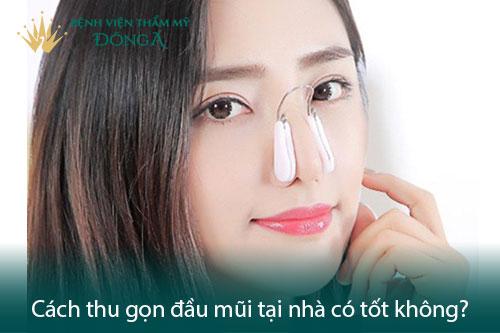 Thu gọn đầu mũi không cần phẫu thuật bằng 2 cách Đơn giản - Hình 2