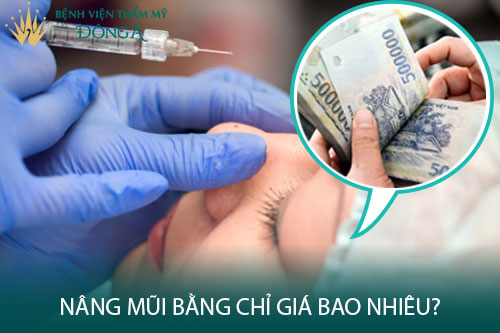 Nâng mũi bằng chỉ giá bao nhiêu? Nên dùng chỉ hay phẫu thuật? Hình 1